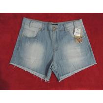 Shorts Boyfriend Plus Size Grande Tamanho 52 E 54