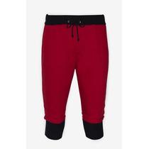 Bermuda De Moleton Masculina Saruel Skinny Jogging Pants