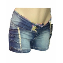 Bermuda Jeans Pit Bull Feminina Ptb 217