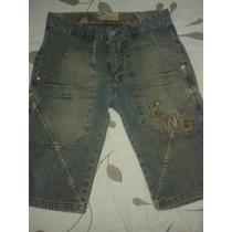 Bermuda Jeans Karenagem - Marca Famosa