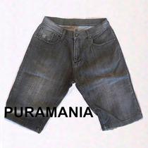Bermuda Jeans Masculina | Puramania | Semi Nova