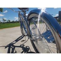 Low Bike Garfo Spring Toda Cromada Única No Style Low Rider