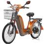 Mobilete Elétrica Bicicleta Motorizada Ecobikes 350w 48v