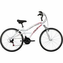 Bicicleta Caloi 100 Sport Feminina 21v Aro 26 Frete Grátis
