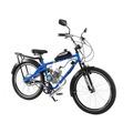 Bicicleta Motorizada Moskito City Kit Motor 80cc C/bagageiro