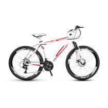 Bike Aro 26 Alfameq Kit Shimano 21v Freio À Disco Quadro Alu