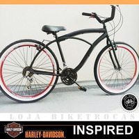 Bicicleta Nova Beach Bike Caiçara Aro 26 Harley N Caloi
