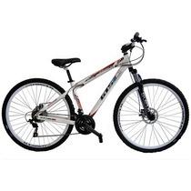Bicicleta Gts M1 Aro 29 21v Com Suspensão Freio A Disco Bike