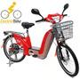Ecobike Elétrica Motorizada 350 W 48v Frete Grátis!!!
