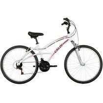 Bicicleta Caloi 100 Sport Femin. Aro 26, 21 Marchas - Caloi