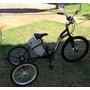 Triciclo Elétrico 250w 36v Modelo Ipanema C/ Bat. Sla 12ah