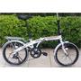Bike Dobrável Trinx Aro 20 Space Shimano 7 Vel A Mais Linda