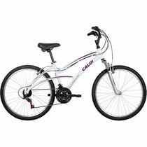 Bicicleta Aro 26 Caloi 100 Sport Feminino 21 Marchas Alumini