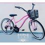 Bicicleta Feminina Aro 26 Retrô Vintage - N Caloi