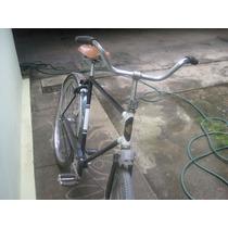 Bicicleta Bike Antiga Com Aro 28 Monark Anos 50