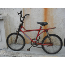 Bicicleta Antiga Brandani Bmx Com Amortecedor
