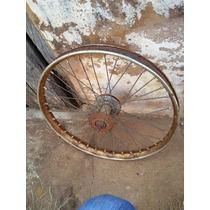 Roda Bicicleta Traseira Com Rosca 2 Lado Para Freio Lona