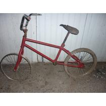 Bicicleta Antiga Monark Bmx Monareta Aro 20 Sem Soldas Shoow