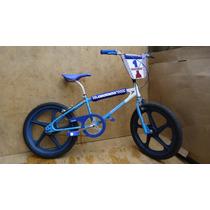 Bicicleta Antiga Caloi Cross Extra Nylon Seta Aro 20 Azul