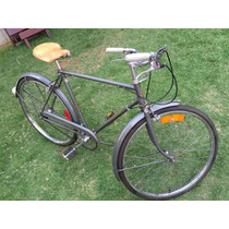 Bicicleta Antiga Raleigh Toda Original