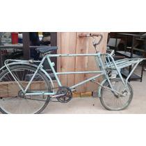 Raríssima Bicicleta Cargueira Importada Antiga No Estado