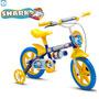 Bicicleta Infantil Menino Aro 12 Shark Nathor Bike