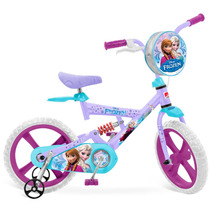 Bicicleta X- Bike Aro 14 - Frozen - Bandeirante