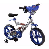Bicicleta Bandeirante X-bike 14 Avengers - Nova - Na Caixa
