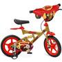 Bicicleta X- Bike Aro 12 - Iron Man - Bandeirante