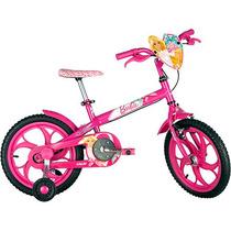 Bicicleta Infantil Caloi Barbie Para Criança De 5 A 7 Anos