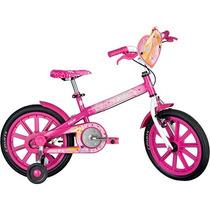 Bicicleta Caloi Barbie (pagamento Em 12 X Sem Acréscimo)