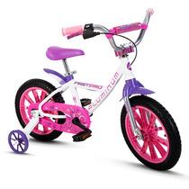 Bicicleta Aro 14 Infantil Feminina Tipo Monsterhigh Alumínio