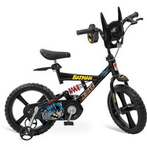 Bicicleta X-bike Aro 14 Batman Bandeirante Lacrada Com Nf