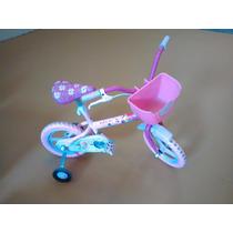 Bicicleta Infantil Caloi Menina Barbie Aro 12 Otimo Estado