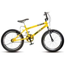Bicicleta Colli Aro 20 Cross Extreme V-break 110/01 Amarelo