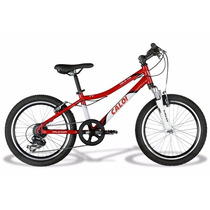 Bicicleta Aro 20 Caloi Wild Xs Garfo Suspensão 7v Bike