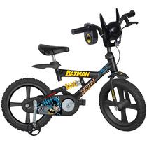 Bicicleta Batman Aro 14 Bandeirante