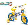 Bicicleta Infantil Aro 12 Shark Nathor Bike Passeio Baby