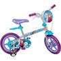 Bicicleta Aro 12 Frozen Disney Bandeirante