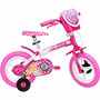 Bicicleta Infantil Semi Nova, Barbie