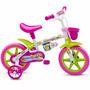 Bicicleta Infantil Aro 12 Feminina Angel Kids