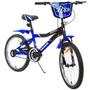 Bicicleta Kawasaki Mx3 Aro 20 Azul Infantil