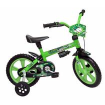 Bicicleta Infantil Aro 12-masc.-p/ Crianças De 3 A 5 Anos