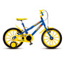 Bicicleta Infantil Colli Aro 16 Mtb Hot 102/18 Rodas Apoio