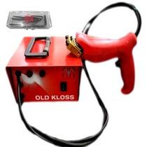 Frisadora Old Kloss Bi Volt + Alicate Vazador