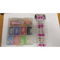 Kit Elasticos + Caixa Organizadora + Fechos Coloridos Gratis