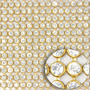 Manta De Strass Cristal 1ª Qualidade 11 Cm X 1,20 Metros