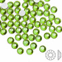 Strass Hotfix 4mm Verde Green Termocolante 1.000 Unidades