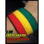 Pulseira Tornozeleira Reggae As+largas 4cm Frete Gratis!!!