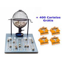 Jogo De Bingo 75 Bolas Médio Nº2 Com 400 Cartelas Ip